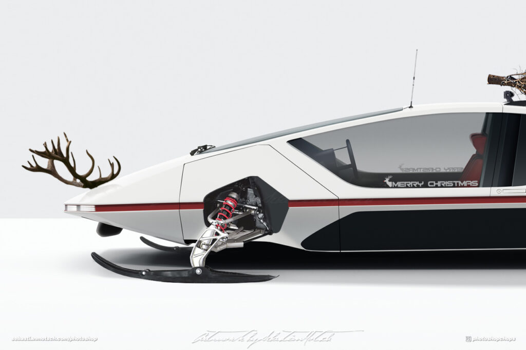 Ferrari 512 S Modulo BEV Santas Christmas Ride by Sebastian Motsch I