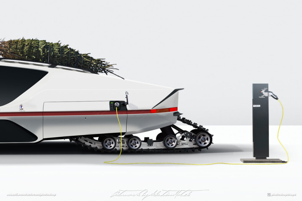 Ferrari 512 S Modulo BEV Santas Christmas Ride by Sebastian Motsch II