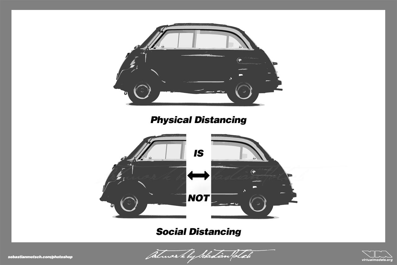 Social Distancing Covid-19 Meme by Sebastian Motsch