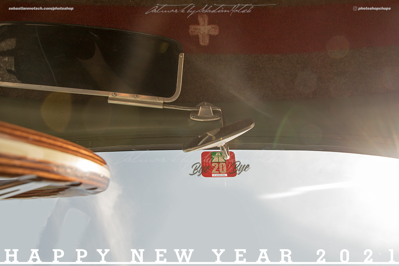 Happy New Year 2021 Photoshop by Sebastian Motsch