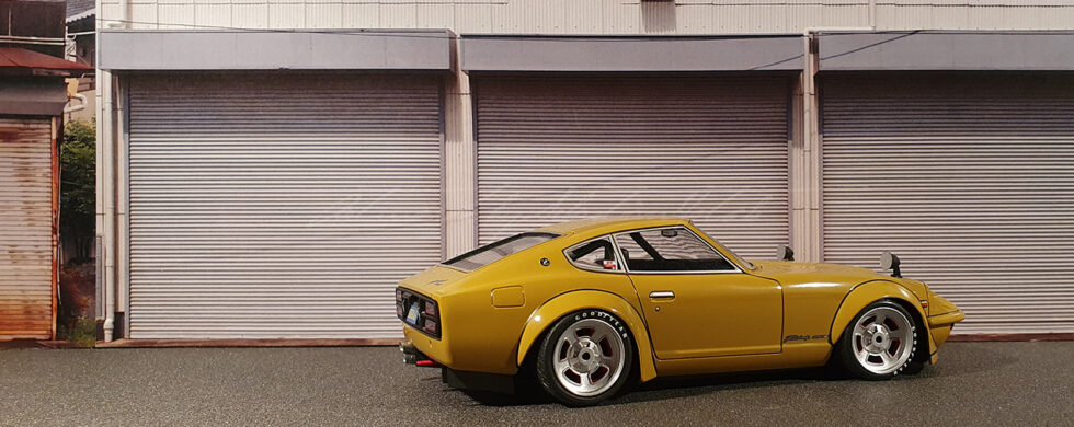 Aoshima Datsun 240Z Built by Sebastian Motsch