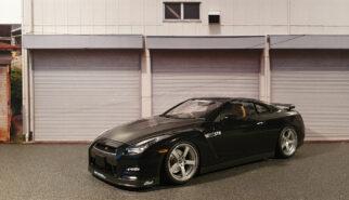 Aoshima Nissan GT-R35 STR Built by Sebastian Motsch