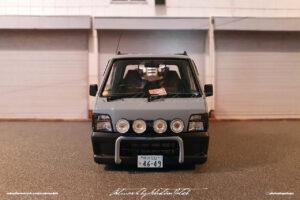 Aoshima Subaru Sambar Quad Transporter Built by Sebastian Motsch