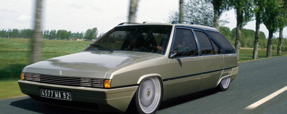 Citroen BX Break Custom Photoshop by Sebastian Motsch