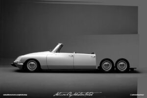 Citroen DS Beach Rod quick and dirty photoshop mock-up