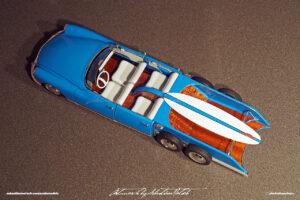 Citroen ID Spiaggina Scale Model Built by Sebastian Motsch