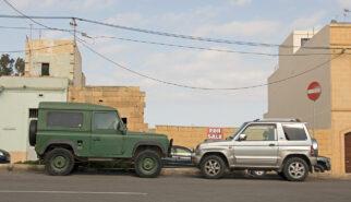 Land Rover 90 and Mitsubishi Pajero Pinin Malta Gozo Drive-by Snapshot by Sebastian Motsch