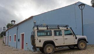 Land Rover Defender 110 LWB Portugal Pedralva Drive-by Snapshot by Sebastian Motsch