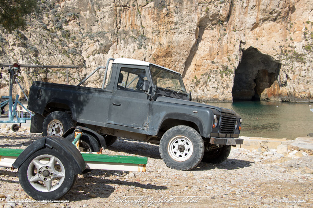 Land Rover LWB Pick-up Malta Gozo Inland Sea Drive-by Snapshots by Sebastian Motsch