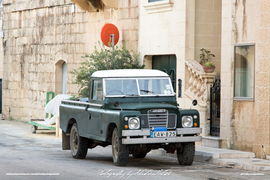 Land Rover Series III Pickup 109 Malta Gozo Drive-by Snapshot by Sebastian Motsch