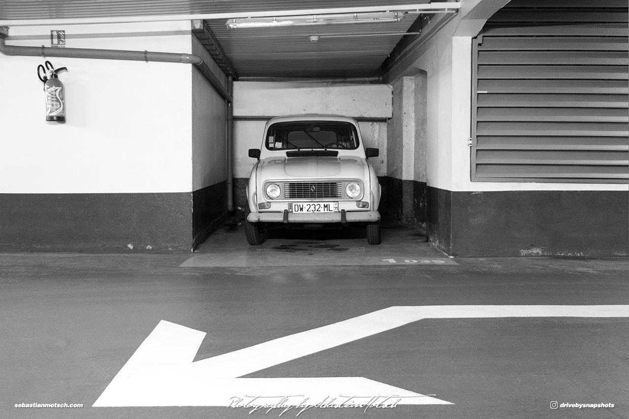 Renault R4 France Nancy Drive-by Snapshot by Sebastian Motsch