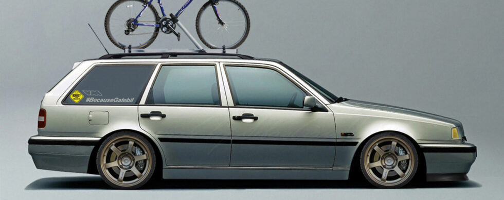 Volvo 460 Wagon Photoshop by Sebastian Motsch