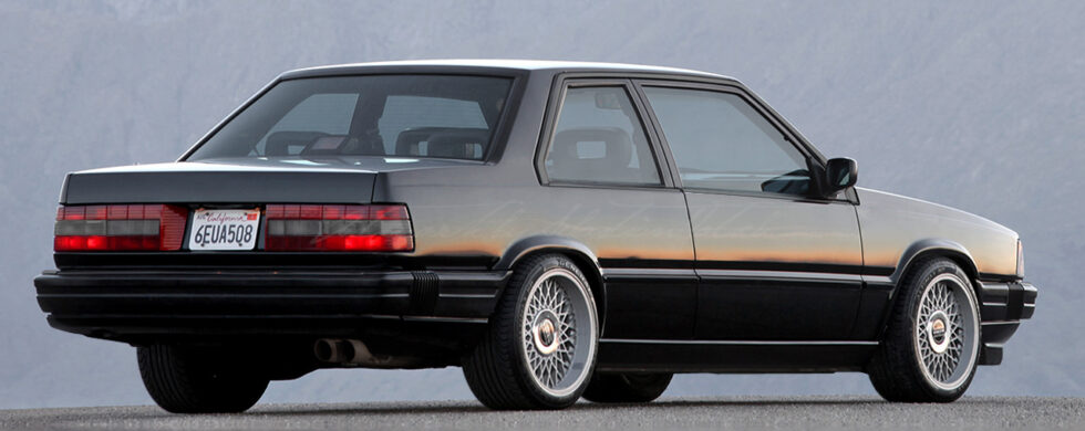 Volvo 780 T5-R Bertone Coupe Photoshop by Sebastian Motsch