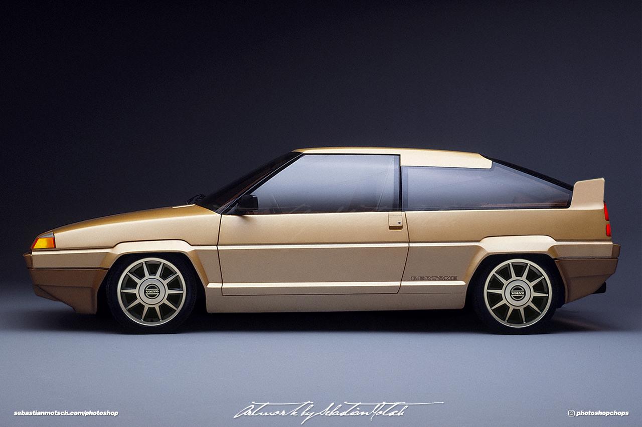 Volvo Tundra Concept T5 Photoshop by Sebastian Motsch
