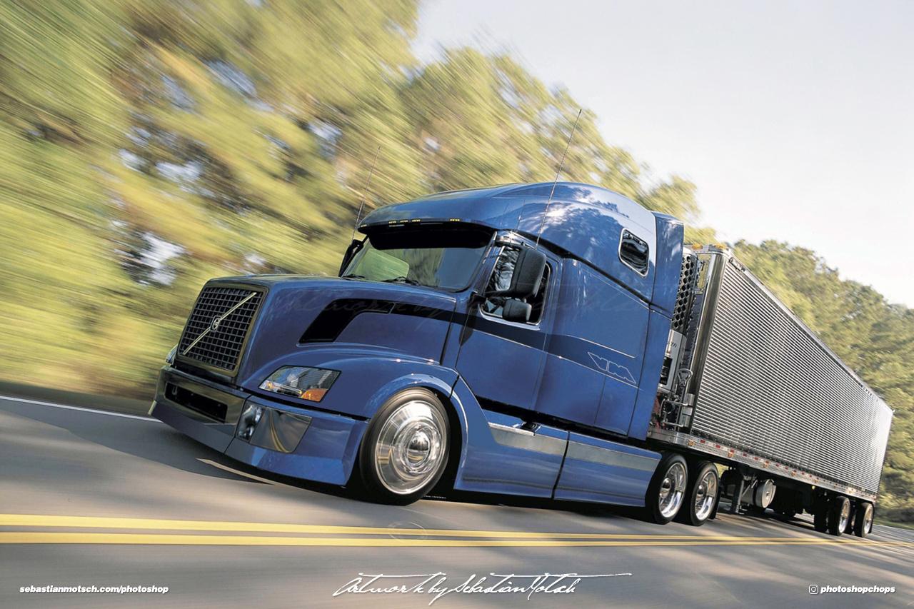 Volvo VN Custom Photoshop by Sebastian Motsch