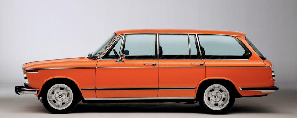 BMW 2002 Touring 4-Door Photoshop by Sebastian Motsch