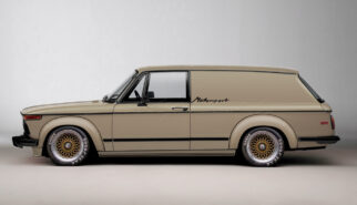 BMW 2002 Turbo Panel Wagon Motorsport Photoshop by Sebastian Motsch