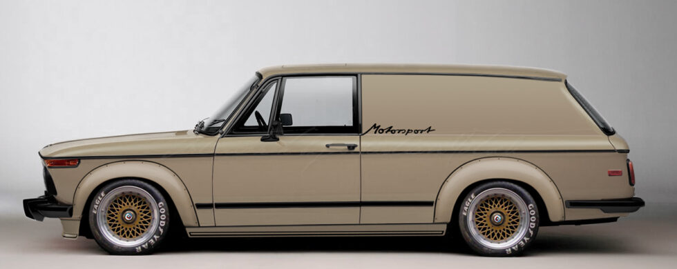 BMW 2002 Turbo Panel Wagon Motorsport Photoshop by Sebastian Motsch