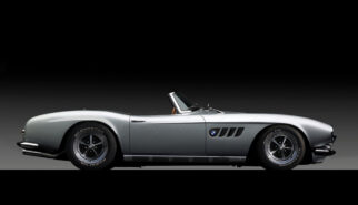 BMW 507 Roadster Muscle Car Photoshop by Sebastian Motsch