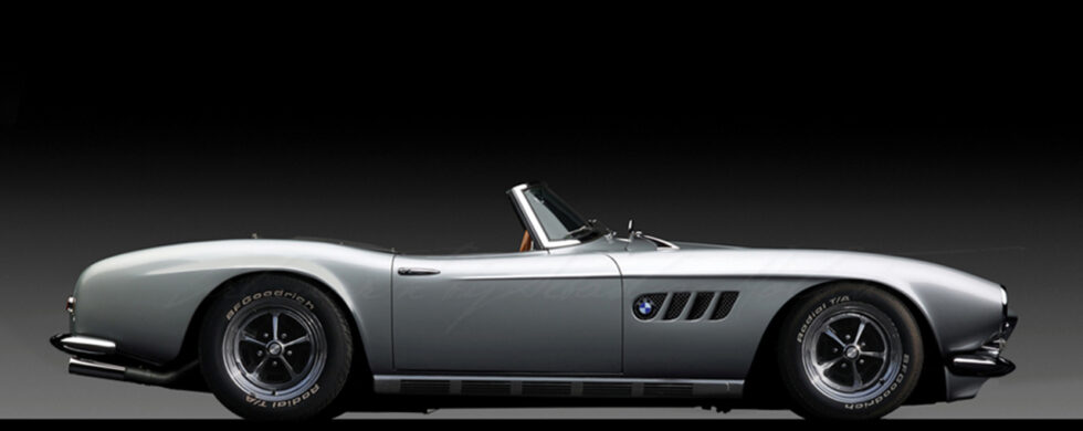 BMW 507 Roadster Muscle Car Photoshop by Sebastian Motsch