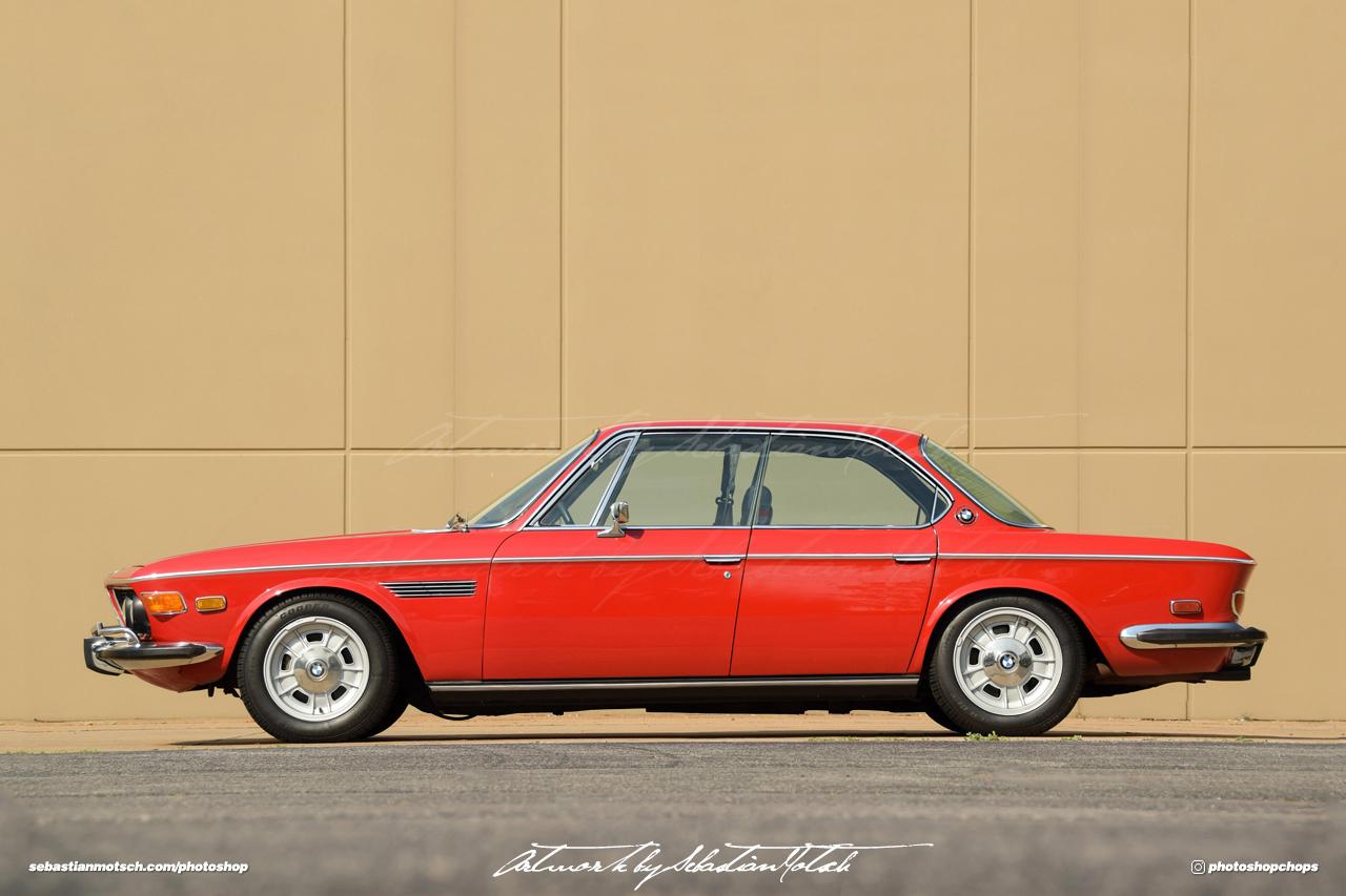 BMW E9 3 Liter Gran Coupé Photoshop by Sebastian Motsch