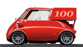 BMW Isetta Delivery Van 100 Years BMW Photoshop by Sebastian Motsch