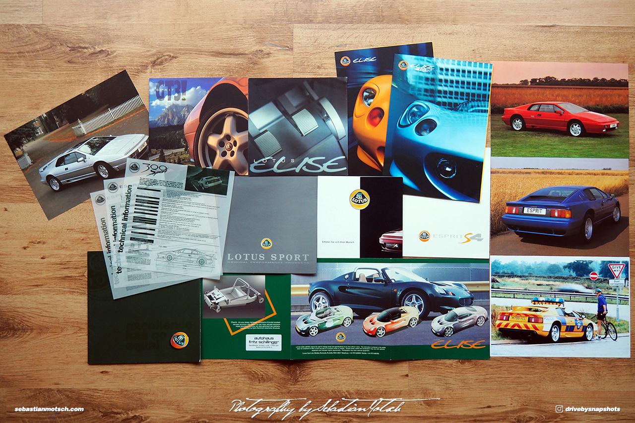 Lotus Brochures and Magazines by Sebastian Motsch