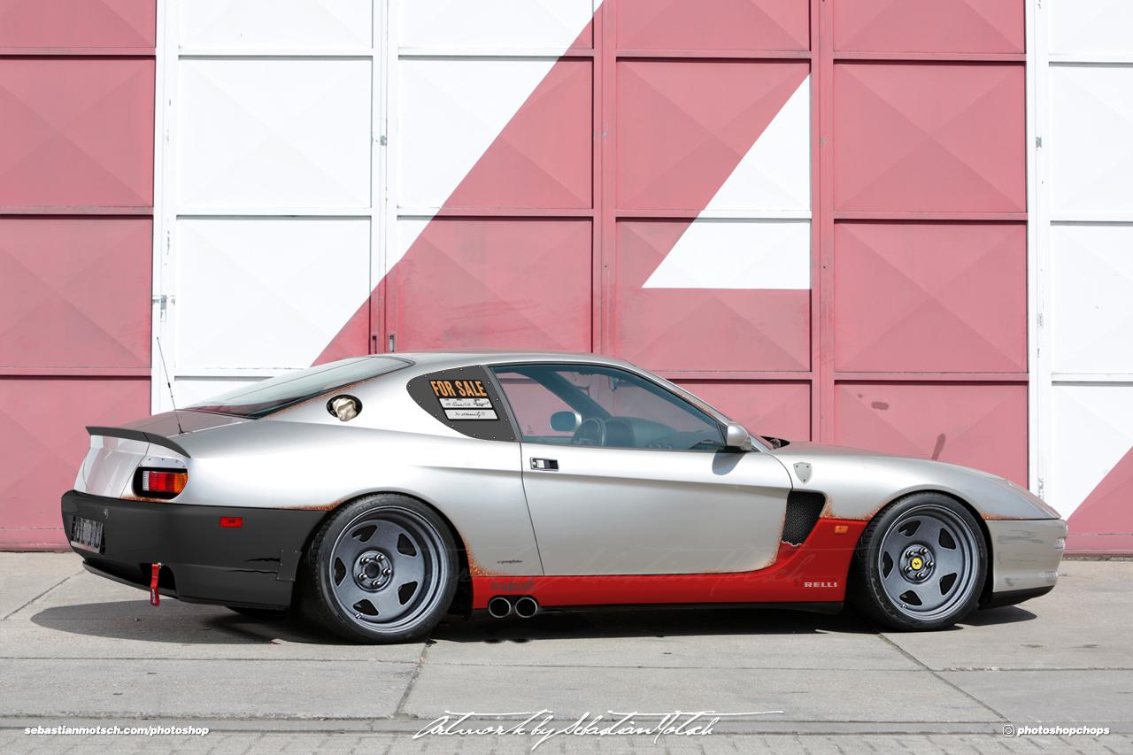 Ferrari 456M GT Photoshop by Sebastian Motsch
