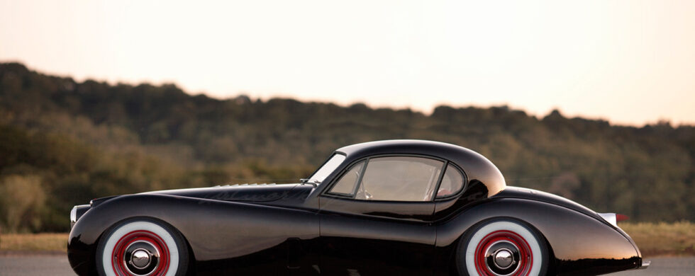 Jaguar XK120 Fixed Head Coupé Outlaw Photoshop by Sebastian Motsch