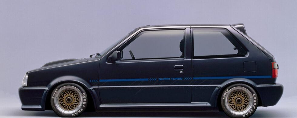 Nissan March Super Turbo Photoshop by Sebastian Motsch