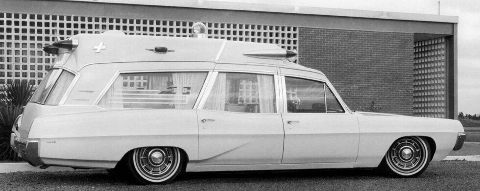 Pontiac Superior High Headroom Ambulance Photoshop Chop by Sebastian Motsch
