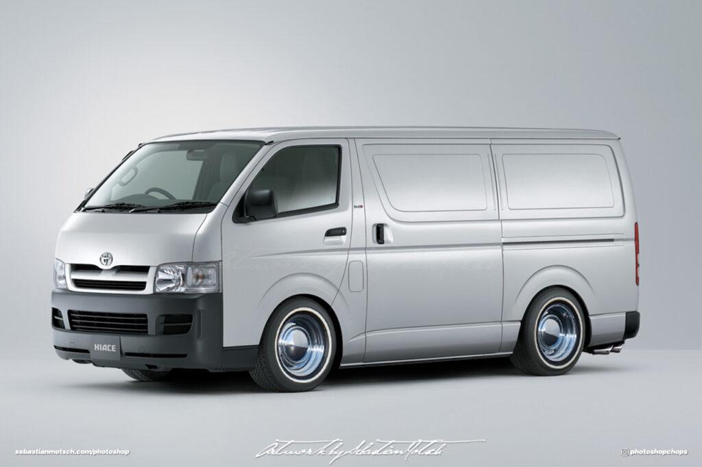 Toyota Hiace H200 Van Photoshop by Sebastian Motsch