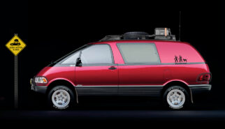 Toyota Previa All-Trac 4x4 Wanderlust Van Photoshop by Sebastian Motsch