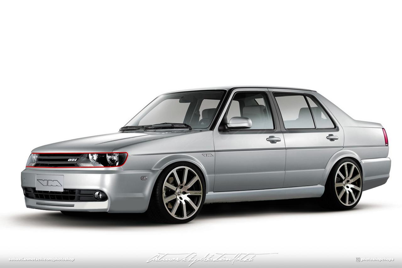 Volkswagen Jetta Mk2 MTM Photoshop by Sebastian Motsch