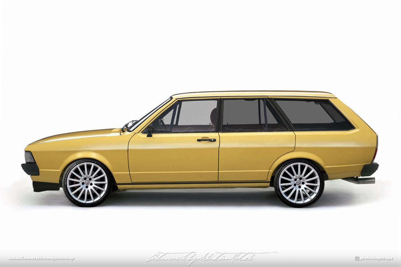 Volkswagen Passat Variant B1 Photoshop by Sebastian Motsch