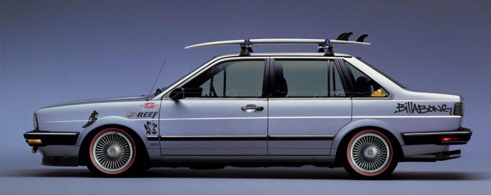 Volkswagen Santana Mk1 Surfers Paradise Photoshop by Sebastian Motsch