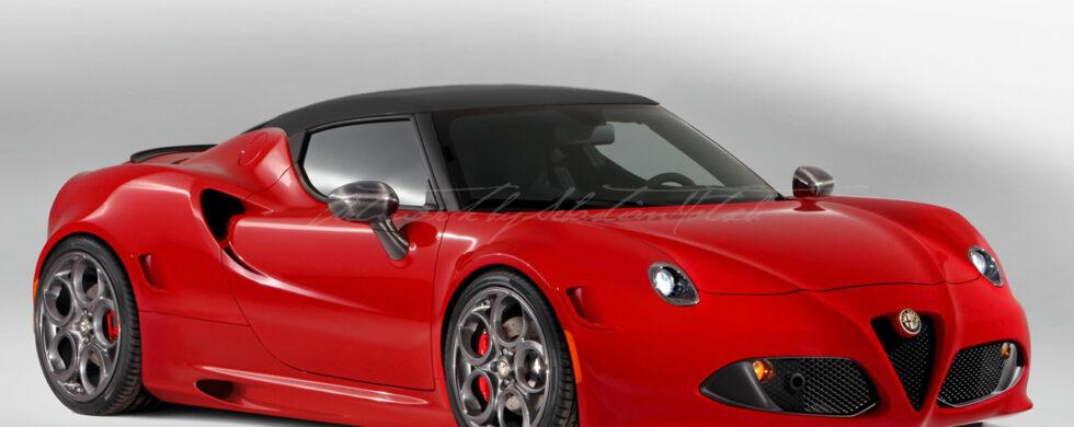 Alfa Romeo 4C Evoluzione Photoshop by Sebastian Motsch